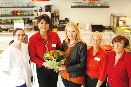Mehr als ein gewöhnlicher Gastronomiebetrieb: Café Marie wird fünf Jahre alt