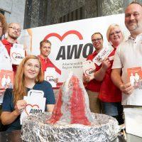 AWO-Mitarbeitende informierten Schülerinnen und Schüler