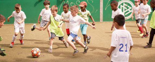 Gutes Sozialverhalten beim Fußball lernen