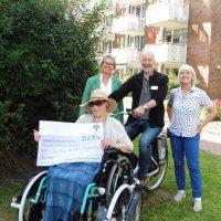 Neues Rollstuhlfahrrad für mehr Bewegungsfreiheit