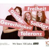 Solidarität, Gerechtigkeit, Gleichheit, Toleranz und Freiheit