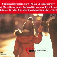 Podiumsdiskussion zum Thema Kinderarmut