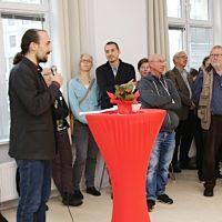 Eröffnung mit Ausstellung
