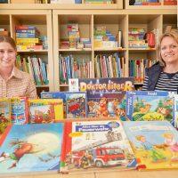 Kinder können ihre Lieblingsspiele ausleihen