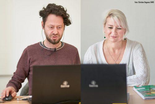 Virtuelle Klassenzimmer und Online-Tutorien