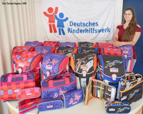 Deutsches Kinderhilfswerk hilft 15 Schulkindern in Hannover