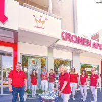 Ahlemer Kronen Apotheke spendet Desinfektionsmittel im Wert von 540 Euro an die AWO
