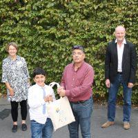 Förderung für Eltern und Kinder: Aufnahmefest in das Diesterweg-Stipendium Hannover