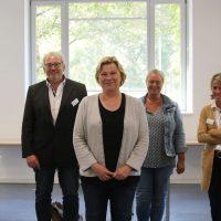 """Mitglieder der SPD Regionsfraktion haben sich über das Projekt """"Ausbildungsbegleitung in der Pflegeausbildung"""" informiert"""