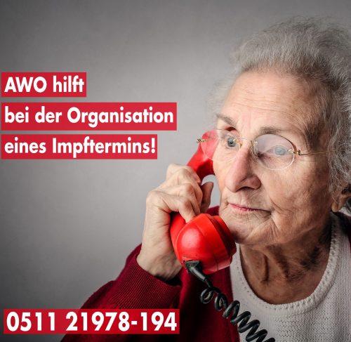 Covid-19: AWO hilft bei der Organisation des Impftermins
