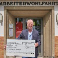 Mehr als 4000 Euro für Unwetter-Opfer