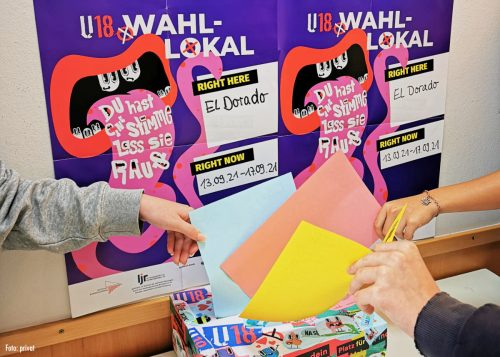 Hohe Teilnahme bei U18 Jugendwahl
