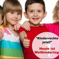 Heute ist Weltkindertag!